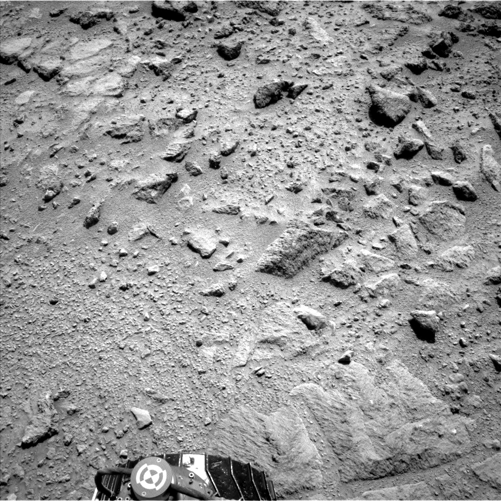 Nasa's Mars rover Curiosity acquired this image using its Left Navigation Camera on Sol 437, at drive 1028, site number 21