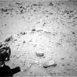 Nasa's Mars rover Curiosity acquired this image using its Right Navigation Camera on Sol 437, at drive 838, site number 21