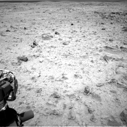 Nasa's Mars rover Curiosity acquired this image using its Right Navigation Camera on Sol 437, at drive 970, site number 21