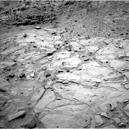 Nasa's Mars rover Curiosity acquired this image using its Left Navigation Camera on Sol 438, at drive 1262, site number 21