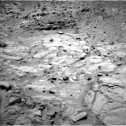 Nasa's Mars rover Curiosity acquired this image using its Left Navigation Camera on Sol 438, at drive 1268, site number 21