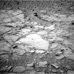 NASA's Mars rover Curiosity acquired this image using its Left Navigation Camera (Navcams) on Sol 438