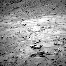 Nasa's Mars rover Curiosity acquired this image using its Left Navigation Camera on Sol 438, at drive 1346, site number 21