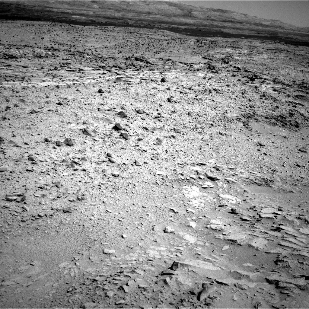 Nasa's Mars rover Curiosity acquired this image using its Right Navigation Camera on Sol 438, at drive 1362, site number 21