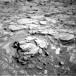 Nasa's Mars rover Curiosity acquired this image using its Right Navigation Camera on Sol 439, at drive 1488, site number 21