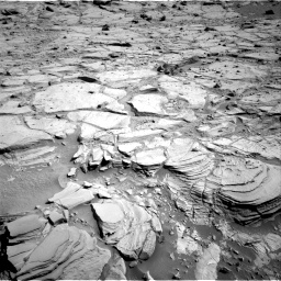 Nasa's Mars rover Curiosity acquired this image using its Right Navigation Camera on Sol 439, at drive 1494, site number 21