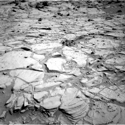 Nasa's Mars rover Curiosity acquired this image using its Right Navigation Camera on Sol 439, at drive 1500, site number 21