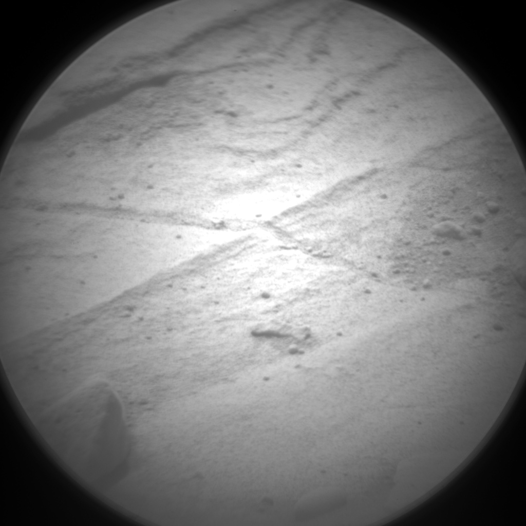 Nasa's Mars rover Curiosity acquired this image using its Chemistry & Camera (ChemCam) on Sol 440, at drive 1572, site number 21