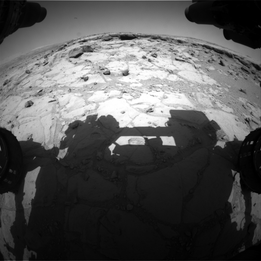 Nasa's Mars rover Curiosity acquired this image using its Front Hazard Avoidance Camera (Front Hazcam) on Sol 440, at drive 1572, site number 21
