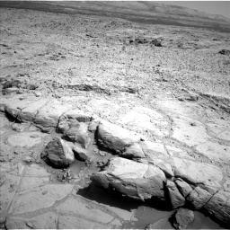 Nasa's Mars rover Curiosity acquired this image using its Left Navigation Camera on Sol 440, at drive 1642, site number 21