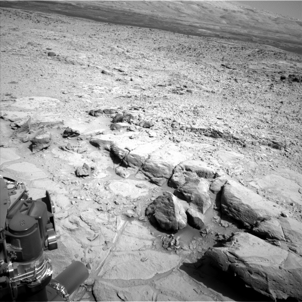 NASA's Mars rover Curiosity acquired this image using its Left Navigation Camera (Navcams) on Sol 440