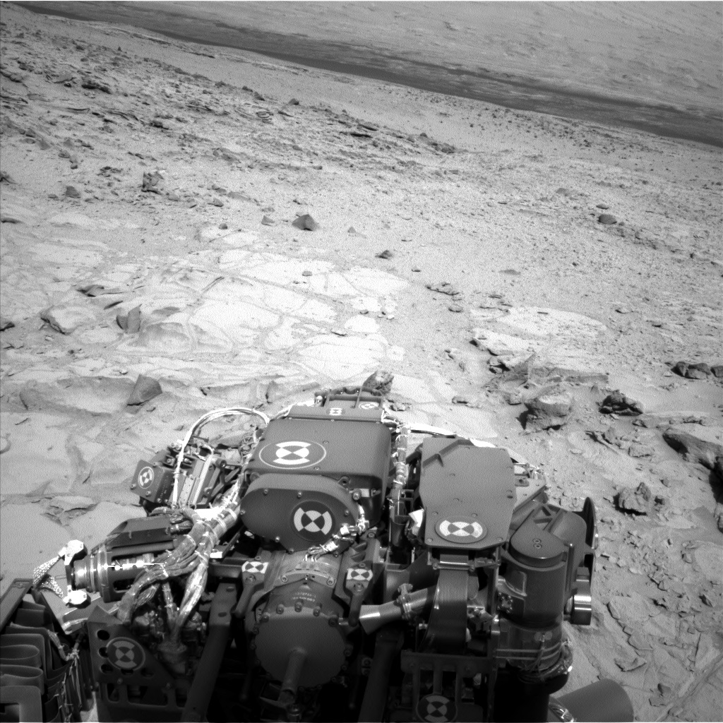 Nasa's Mars rover Curiosity acquired this image using its Left Navigation Camera on Sol 440, at drive 0, site number 22