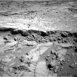 Nasa's Mars rover Curiosity acquired this image using its Right Navigation Camera on Sol 440, at drive 1596, site number 21