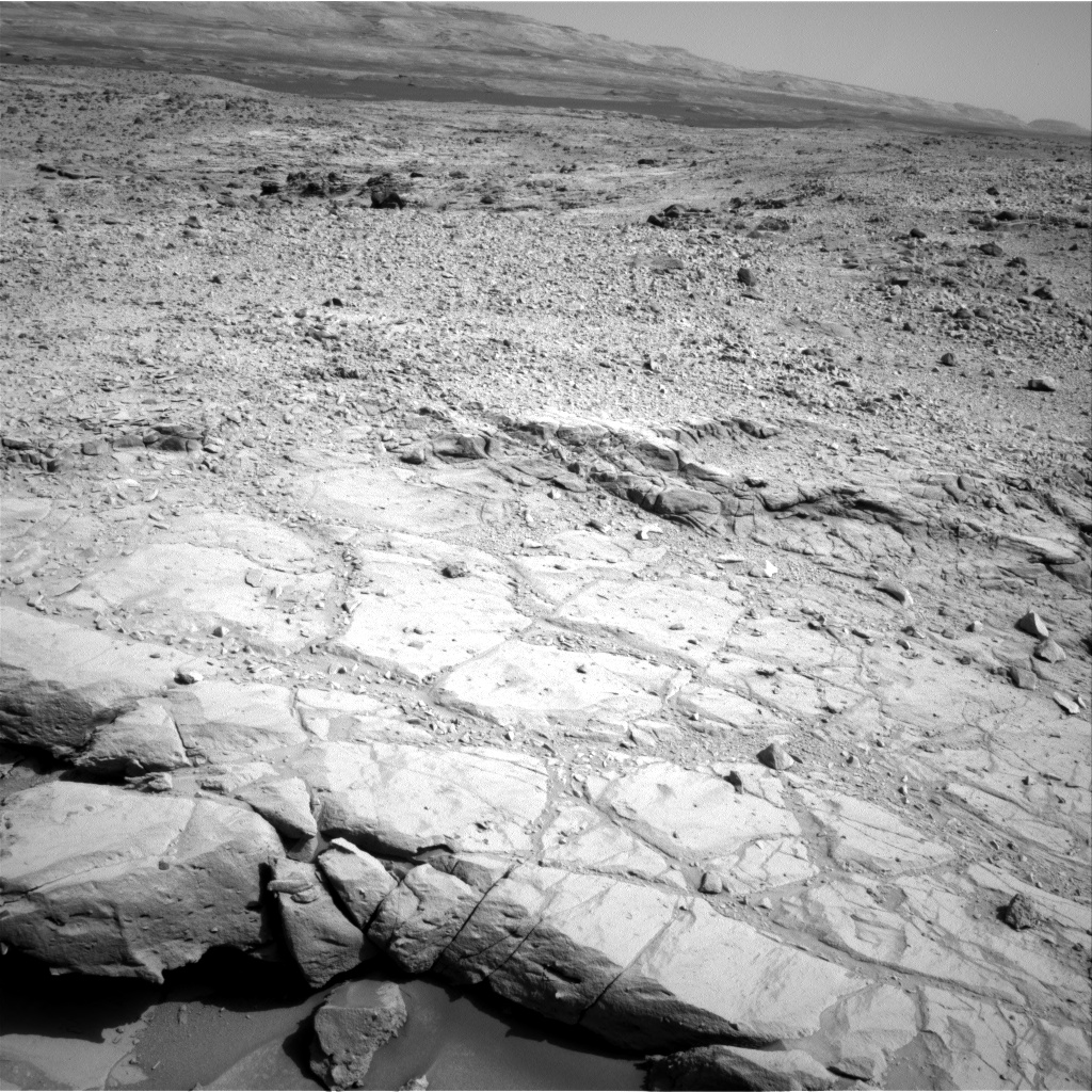 Nasa's Mars rover Curiosity acquired this image using its Right Navigation Camera on Sol 440, at drive 0, site number 22
