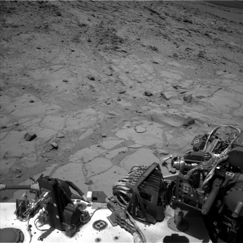 NASA's Mars rover Curiosity acquired this image using its Left Navigation Camera (Navcams) on Sol 441