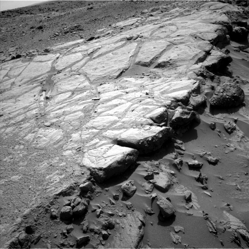 Nasa's Mars rover Curiosity acquired this image using its Left Navigation Camera on Sol 441, at drive 0, site number 22