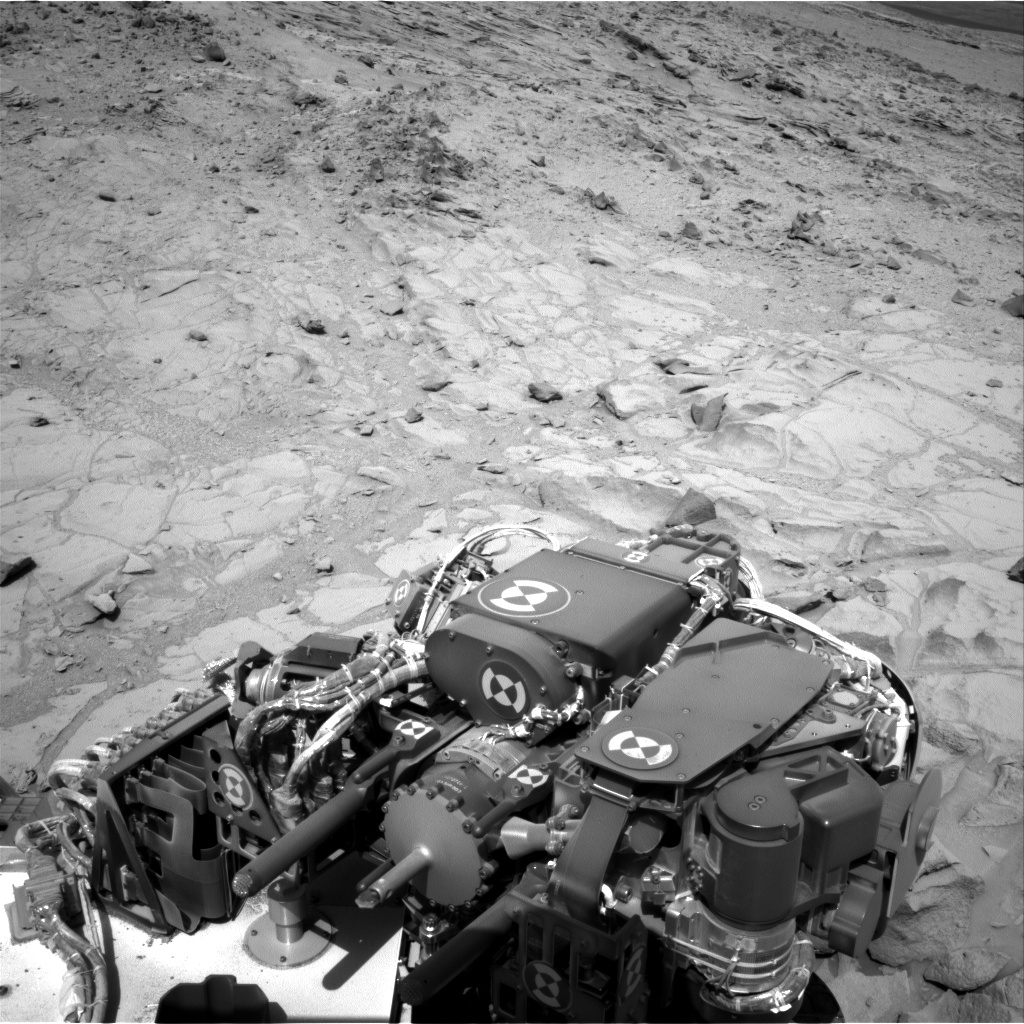 Nasa's Mars rover Curiosity acquired this image using its Right Navigation Camera on Sol 441, at drive 0, site number 22