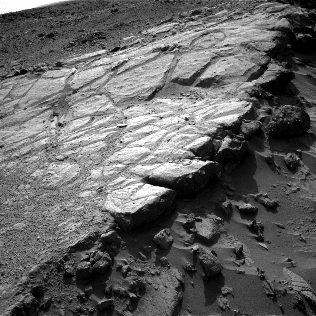 Nasa's Mars rover Curiosity acquired this image using its Left Navigation Camera on Sol 443, at drive 0, site number 22