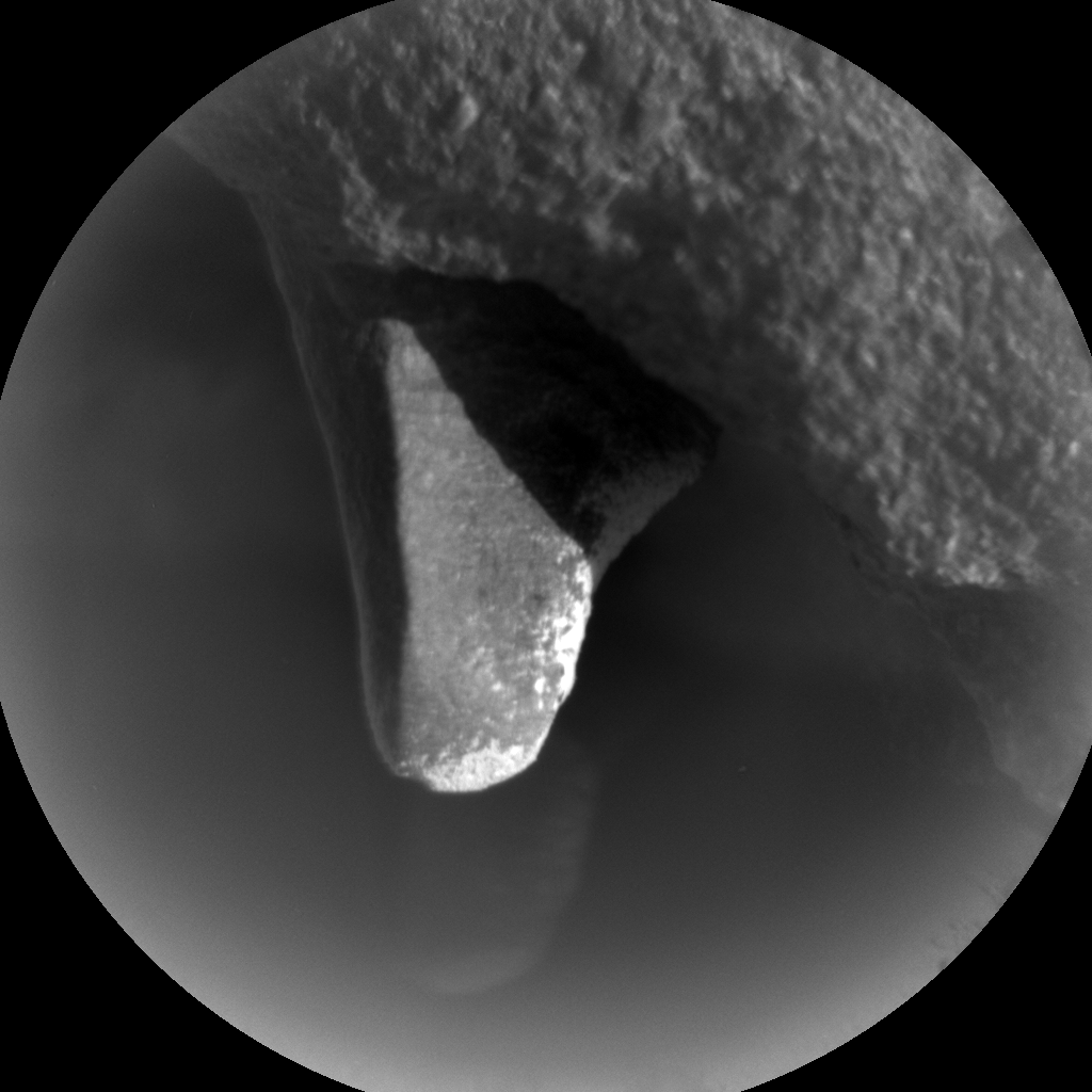 Nasa's Mars rover Curiosity acquired this image using its Chemistry & Camera (ChemCam) on Sol 443, at drive 0, site number 22