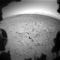 Nasa's Mars rover Curiosity acquired this image using its Front Hazard Avoidance Camera (Front Hazcam) on Sol 453, at drive 354, site number 22