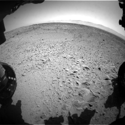 Nasa's Mars rover Curiosity acquired this image using its Front Hazard Avoidance Camera (Front Hazcam) on Sol 453, at drive 372, site number 22