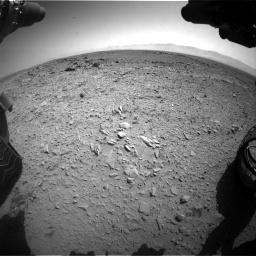 Nasa's Mars rover Curiosity acquired this image using its Front Hazard Avoidance Camera (Front Hazcam) on Sol 453, at drive 456, site number 22