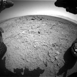 Nasa's Mars rover Curiosity acquired this image using its Front Hazard Avoidance Camera (Front Hazcam) on Sol 453, at drive 462, site number 22