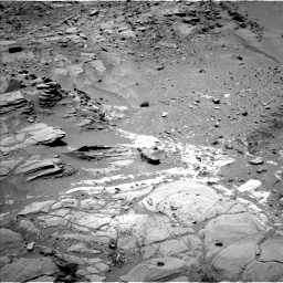 Nasa's Mars rover Curiosity acquired this image using its Left Navigation Camera on Sol 453, at drive 84, site number 22
