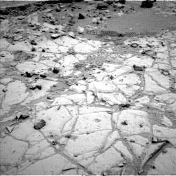 Nasa's Mars rover Curiosity acquired this image using its Left Navigation Camera on Sol 453, at drive 132, site number 22