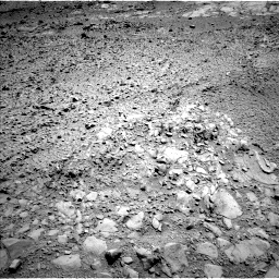 Nasa's Mars rover Curiosity acquired this image using its Left Navigation Camera on Sol 453, at drive 192, site number 22