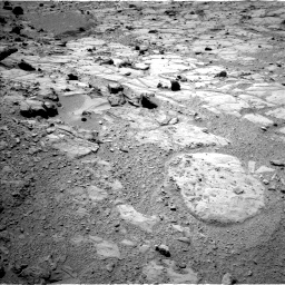 Nasa's Mars rover Curiosity acquired this image using its Left Navigation Camera on Sol 453, at drive 246, site number 22