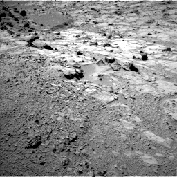 Nasa's Mars rover Curiosity acquired this image using its Left Navigation Camera on Sol 453, at drive 252, site number 22
