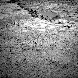 Nasa's Mars rover Curiosity acquired this image using its Left Navigation Camera on Sol 453, at drive 270, site number 22