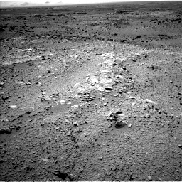 Nasa's Mars rover Curiosity acquired this image using its Left Navigation Camera on Sol 453, at drive 426, site number 22