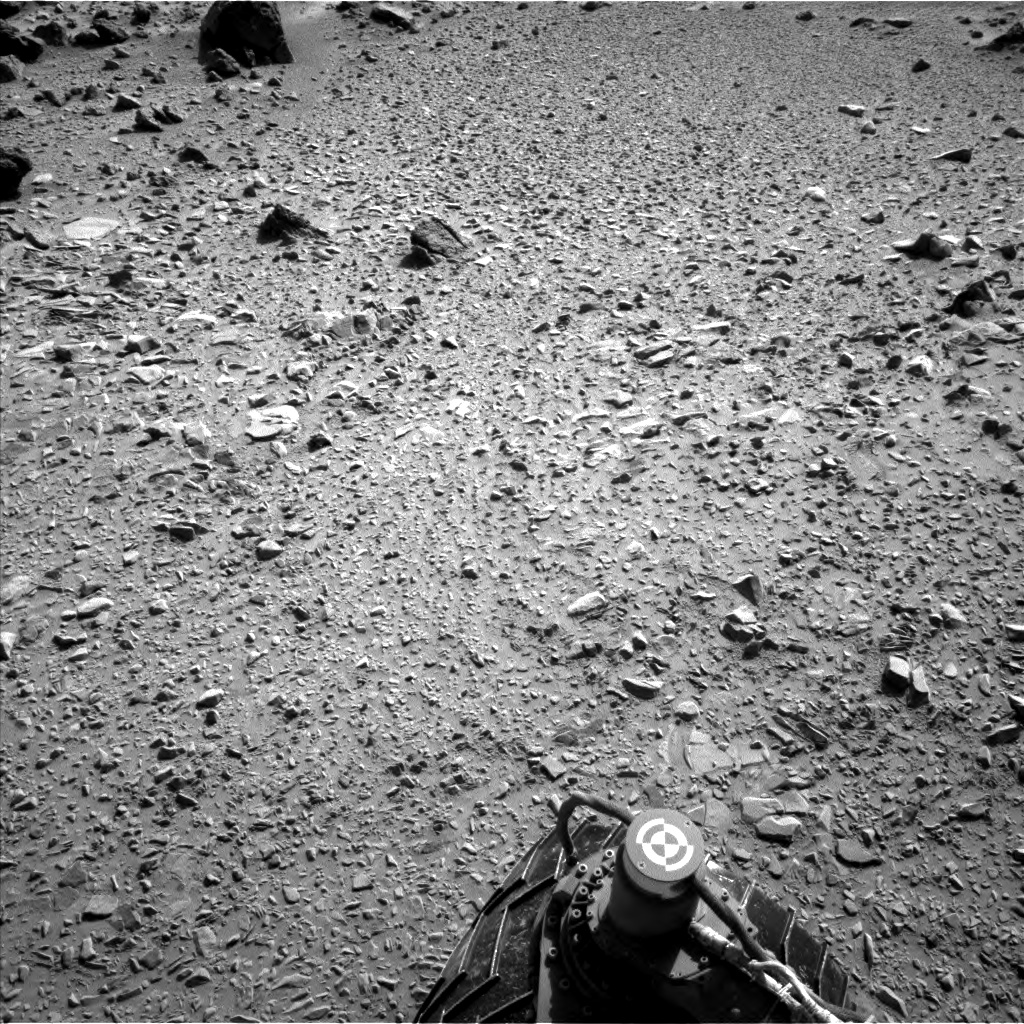 Nasa's Mars rover Curiosity acquired this image using its Left Navigation Camera on Sol 453, at drive 484, site number 22