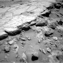 Nasa's Mars rover Curiosity acquired this image using its Right Navigation Camera on Sol 453, at drive 6, site number 22