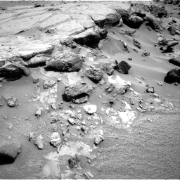 Nasa's Mars rover Curiosity acquired this image using its Right Navigation Camera on Sol 453, at drive 12, site number 22