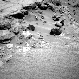 Nasa's Mars rover Curiosity acquired this image using its Right Navigation Camera on Sol 453, at drive 18, site number 22