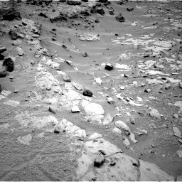 Nasa's Mars rover Curiosity acquired this image using its Right Navigation Camera on Sol 453, at drive 30, site number 22
