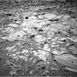 Nasa's Mars rover Curiosity acquired this image using its Right Navigation Camera on Sol 453, at drive 42, site number 22
