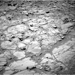 Nasa's Mars rover Curiosity acquired this image using its Right Navigation Camera on Sol 453, at drive 60, site number 22