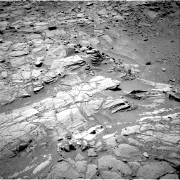 Nasa's Mars rover Curiosity acquired this image using its Right Navigation Camera on Sol 453, at drive 72, site number 22