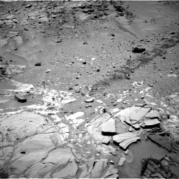 Nasa's Mars rover Curiosity acquired this image using its Right Navigation Camera on Sol 453, at drive 90, site number 22