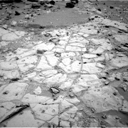 Nasa's Mars rover Curiosity acquired this image using its Right Navigation Camera on Sol 453, at drive 120, site number 22