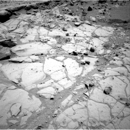 Nasa's Mars rover Curiosity acquired this image using its Right Navigation Camera on Sol 453, at drive 144, site number 22