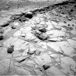 Nasa's Mars rover Curiosity acquired this image using its Right Navigation Camera on Sol 453, at drive 156, site number 22