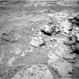 Nasa's Mars rover Curiosity acquired this image using its Right Navigation Camera on Sol 453, at drive 174, site number 22