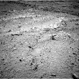 Nasa's Mars rover Curiosity acquired this image using its Right Navigation Camera on Sol 453, at drive 408, site number 22