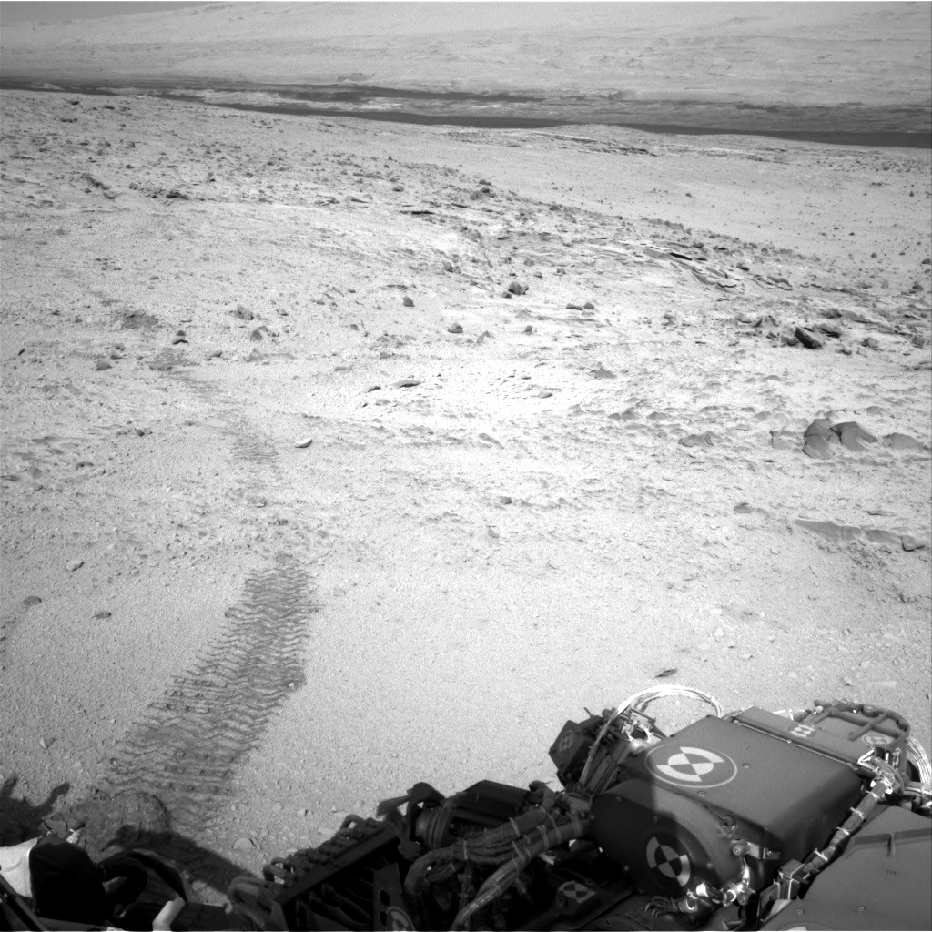 Nasa's Mars rover Curiosity acquired this image using its Right Navigation Camera on Sol 453, at drive 484, site number 22