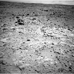 Nasa's Mars rover Curiosity acquired this image using its Left Navigation Camera on Sol 454, at drive 838, site number 22